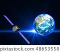 인공위성 지구 일본 GPS 통신 네트워크 48653550