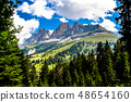 The Latemar, a mountain in the Italian Dolomites 48654160