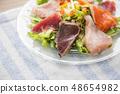 Seafood salad 48654982