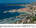 Menton, panoramic view 48656721