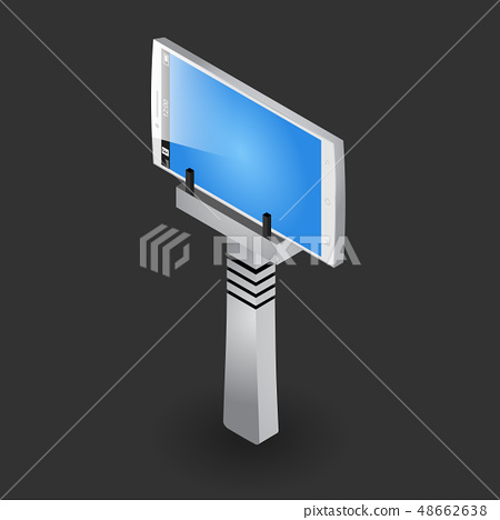 Selfie stick tripod with the blue screen gadget 48662638