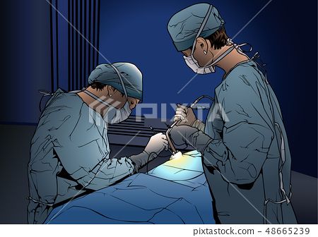 Doctors in the Operating Room 48665239