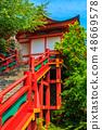 新绿的Yude Inari神社【佐贺县鹿岛市】 48669578