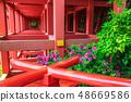 新绿的Yude Inari神社【佐贺县鹿岛市】 48669586
