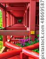 新绿的Yude Inari神社【佐贺县鹿岛市】 48669587
