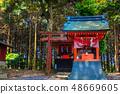 新绿的Yude Inari神社【佐贺县鹿岛市】 48669605