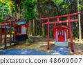 新绿的Yude Inari神社【佐贺县鹿岛市】 48669607