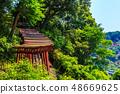 新绿的Yude Inari神社【佐贺县鹿岛市】 48669625