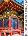 新绿的Yude Inari神社【佐贺县鹿岛市】 48669642