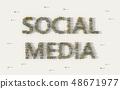 媒體 社會 社交 48671977