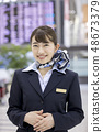 CA Cabin Attendant Airport Staff 48673379