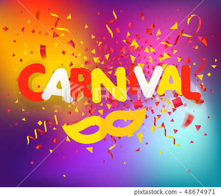 Brazilian traditional carnival concept 48674971