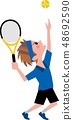 網球 48692590