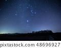 """""""双子座流星雨""""冬季大三角和双子座流星雨 48696927"""