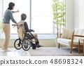 高級男性輪椅 48698324