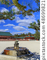 Heian Shrine early spring plum 48699821