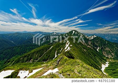 치고 고마에서 원하는 中노岳와 타니 · 오세 산맥 48701180