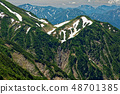 치고 고마에서 볼 中노岳 · 핫 카이 산 사이 폭포 48701385