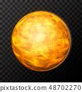 Bright realistic Venus planet 48702270