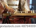 Koto japanese harp 48704009