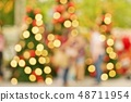 크리스마스, 크리스마스 트리 이미지 (Blurred Image of Christmas) 48711954