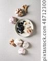 Group of garlic 48712300