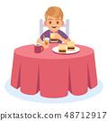 เด็ก,กิน,ปรุงสุก 48712917