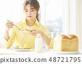 女性生活早餐 48721795