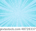 Abstract sun burst blue sky color circle pattern 48726337