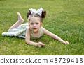 여자, 여성, 어린이 48729418