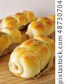 어묵 빵 48730704