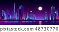 เมือง,นีออน,ตึกระฟ้า 48730770