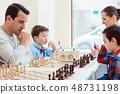 Chess, playing, Family 48731198