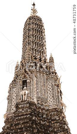 Wat Arun called Akatsuki Temple 48731759
