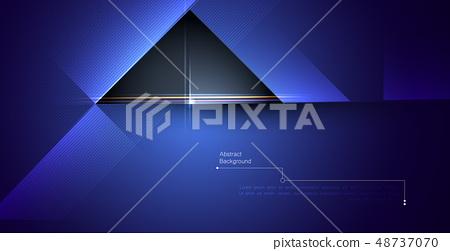 Metal frame design gradient color for background. 48737070