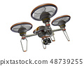Drone (with camera · transparent material) 48739255