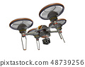 Drone (with camera · transparent material) 48739256
