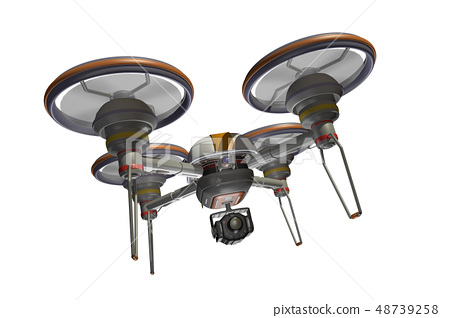 Drone (with camera · transparent material) 48739258