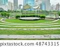 Benjakitti Park in Bangkok, Thailand (벤처 키티 공원) 48743315