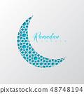 Ramadan Kareem holiday background. 48748194
