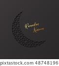 Ramadan Kareem holiday background. 48748196