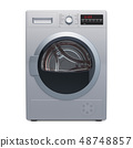 Clothes dryer, 3D rendering 48748857