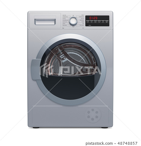 Clothes dryer, 3D rendering 48748857