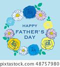 父亲节父亲节图像插图 48757980
