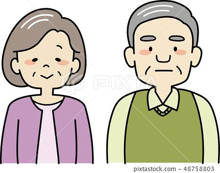 祖父和祖母 48758803