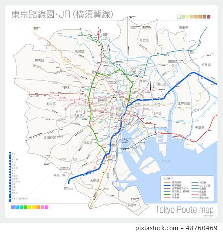 東京路線圖·JR(橫須賀線) 48760469