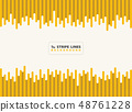 Abstract dash yellow with black stripe lines 48761228