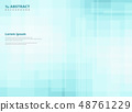 Abstract gradient blue square pattern background. 48761229