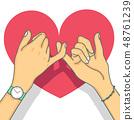 มือ,สัญญา,คู่ 48761239