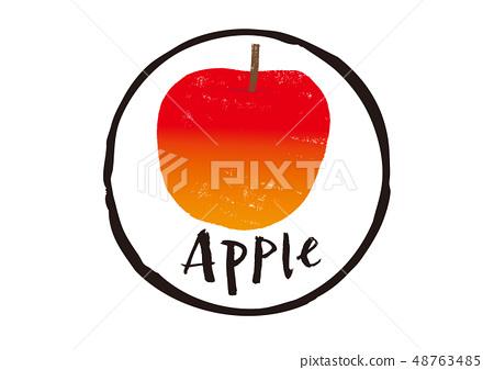 蘋果刷刻字 48763485